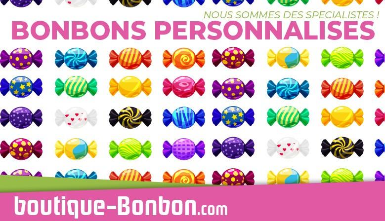 Vos Bonbons Personnalisés avec le logo de votre entreprise !